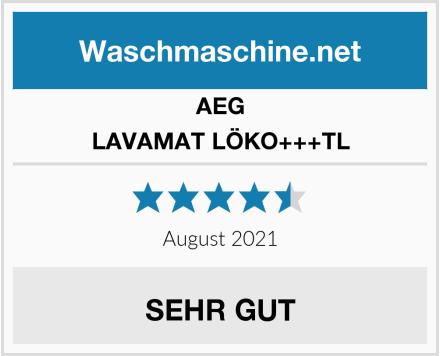 AEG LAVAMAT LÖKO+++TL Test