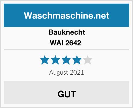 Bauknecht WAI 2642  Test