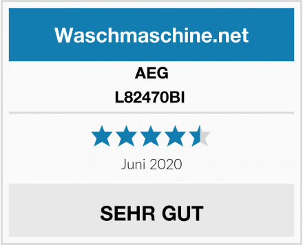 AEG L82470BI  Test