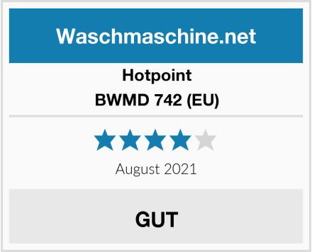 Hotpoint BWMD 742 (EU) Test