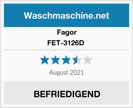 Fagor FET-3126D  Test