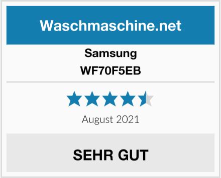 Samsung WF70F5EB Test