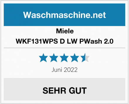 Miele WKF131WPS D LW PWash 2.0 Test