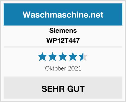 Siemens WP12T447 Test