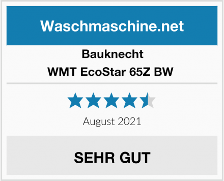 Bauknecht WMT EcoStar 65Z BW  Test