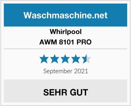 Whirlpool AWM 8101 PRO Test