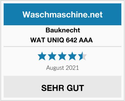 Bauknecht WAT UNIQ 642 AAA  Test
