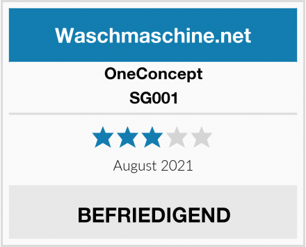 OneConcept SG001 Test