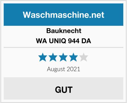 Bauknecht WA UNIQ 944 DA Test