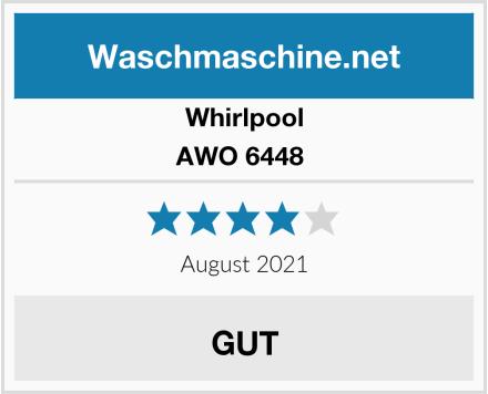 Whirlpool AWO 6448  Test