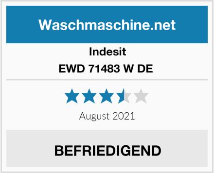 Indesit EWD 71483 W DE  Test
