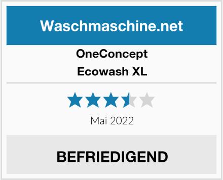 OneConcept Ecowash XL Test