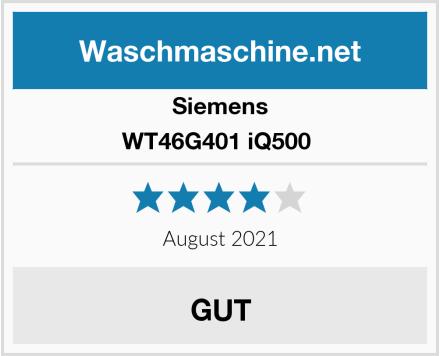 Siemens WT46G401 iQ500  Test