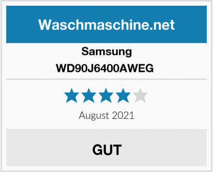 Samsung WD90J6400AWEG  Test