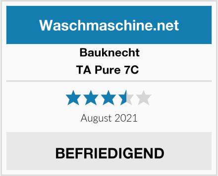 Bauknecht TA Pure 7C  Test