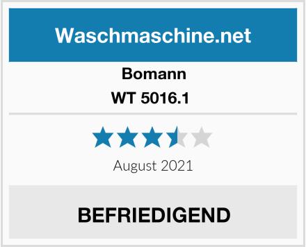 Bomann WT 5016.1  Test