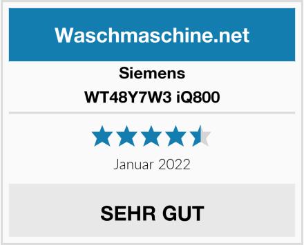 Siemens WT48Y7W3 iQ800 Test