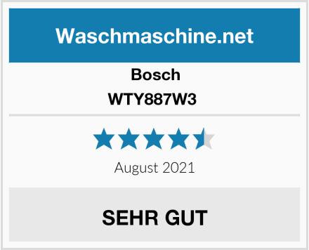 Bosch WTY887W3  Test