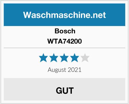 Bosch WTA74200 Test