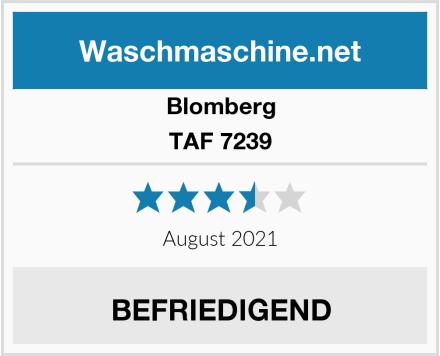 Blomberg TAF 7239 Test