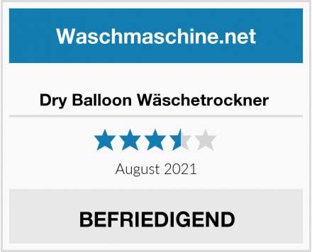 No Name Dry Balloon Wäschetrockner  Test