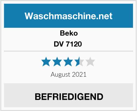 Beko DV 7120  Test