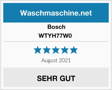 Bosch WTYH77W0  Test