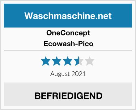 OneConcept Ecowash-Pico Test