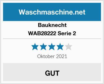 Bauknecht WAB28222 Serie 2 Test