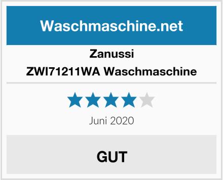 Zanussi ZWI71211WA Waschmaschine Test