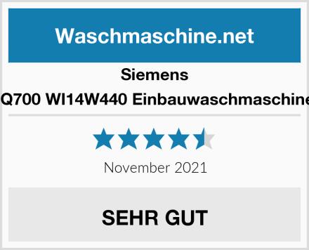 Siemens iQ700 WI14W440 Einbauwaschmaschine Test