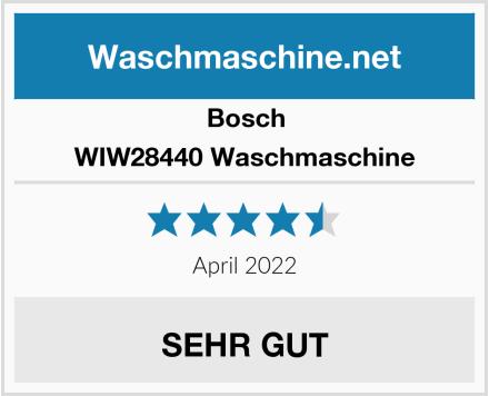 Bosch WIW28440 Waschmaschine Test