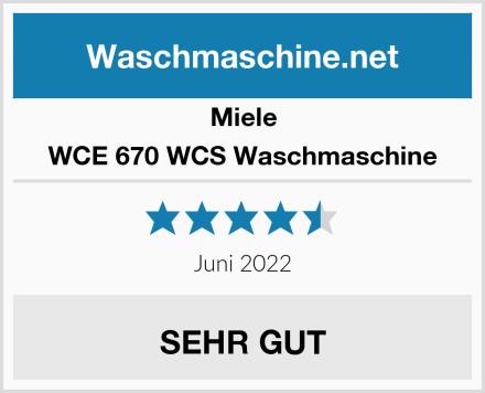 Miele WCE 670 WCS Waschmaschine Test