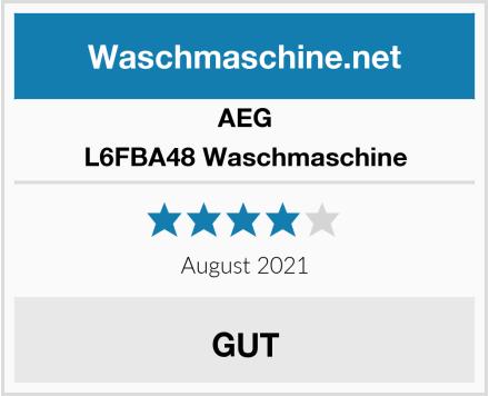 AEG L6FBA48 Waschmaschine Test