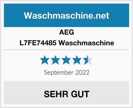 AEG L7FE74485 Waschmaschine Test