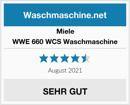 Miele WWE 660 WCS Waschmaschine Test