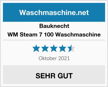 Bauknecht WM Steam 7 100 Waschmaschine Test