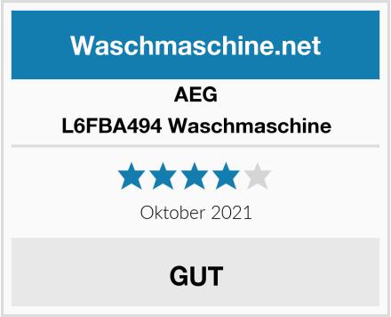 AEG L6FBA494 Waschmaschine Test