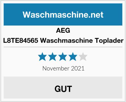 AEG L8TE84565 Waschmaschine Toplader Test