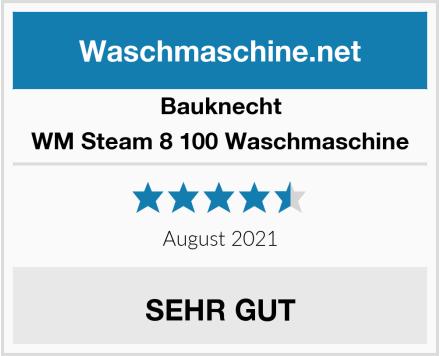 Bauknecht WM Steam 8 100 Waschmaschine Test