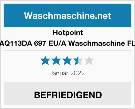 Hotpoint AQ113DA 697 EU/A Waschmaschine FL Test