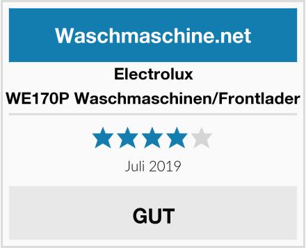 Electrolux WE170P Waschmaschinen/Frontlader Test