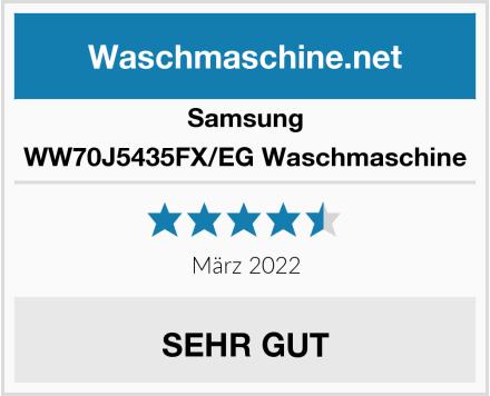 Samsung WW70J5435FX/EG Waschmaschine Test