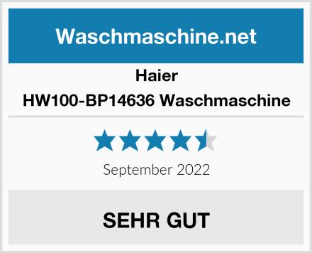 Haier HW100-BP14636 Waschmaschine Test