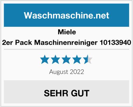 Miele 2er Pack Maschinenreiniger 10133940 Test