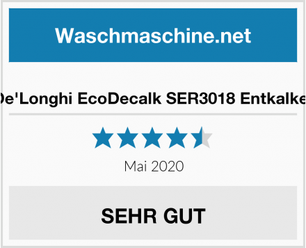No Name De'Longhi EcoDecalk SER3018 Entkalker Test