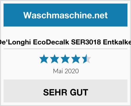De'Longhi EcoDecalk SER3018 Entkalker Test