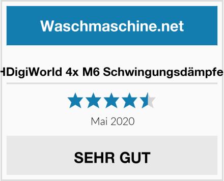 HDigiWorld 4x M6 Schwingungsdämpfer Test