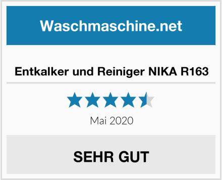 No Name Entkalker und Reiniger NIKA R163 Test