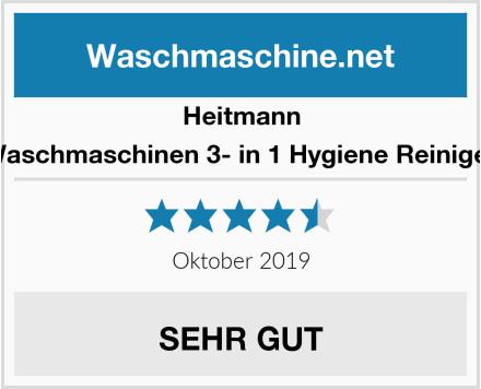 Heitmann Waschmaschinen 3- in 1 Hygiene Reiniger Test